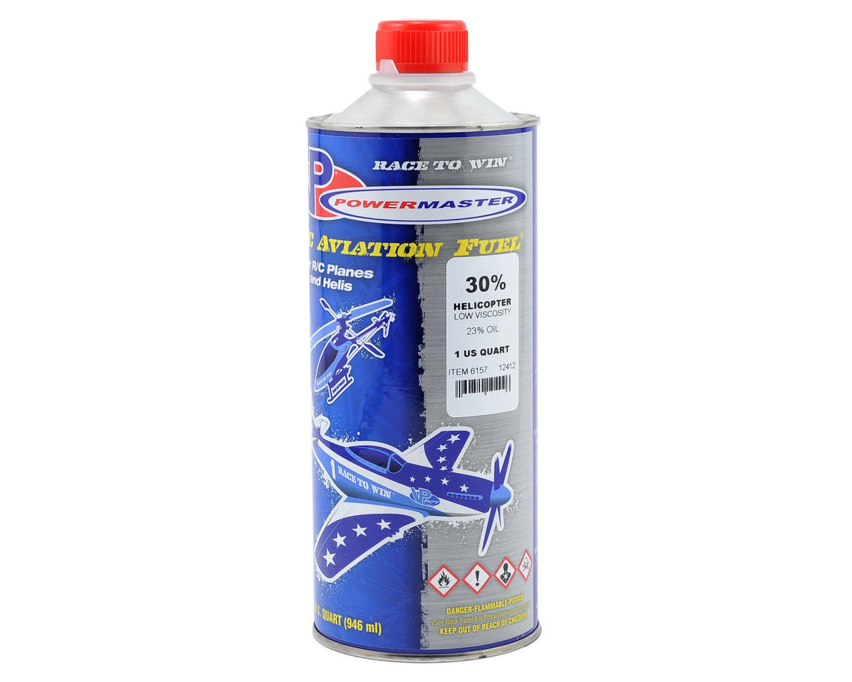 PowerMaster 30% Helicopter Fuel (23% Synthetic Low-Viscosity Blend) (One Quart)