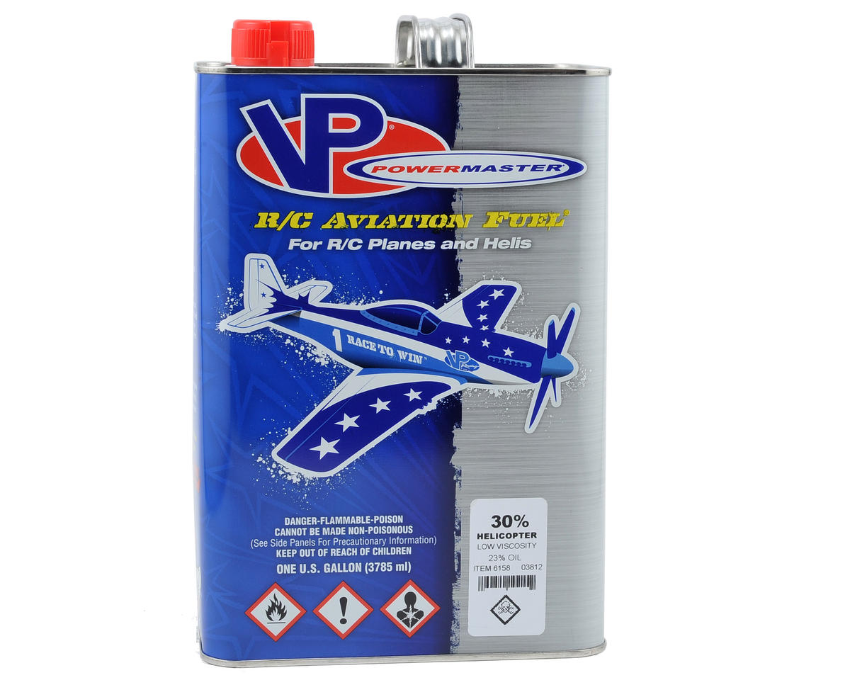 PowerMaster 30% Helicopter Fuel (23% Synthetic Low-Viscosity Blend) (6 Gallons)