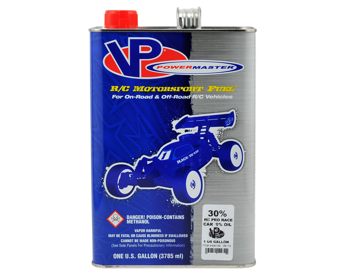 Pro Race 30% Car Fuel (9.25% Castor/Synthetic Blend) (Six Gallons)