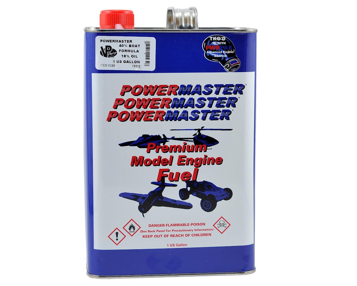PowerMaster Boat Formula 40% Boat Fuel (18% Castor/Synthetic Blend) (Six Gallons)