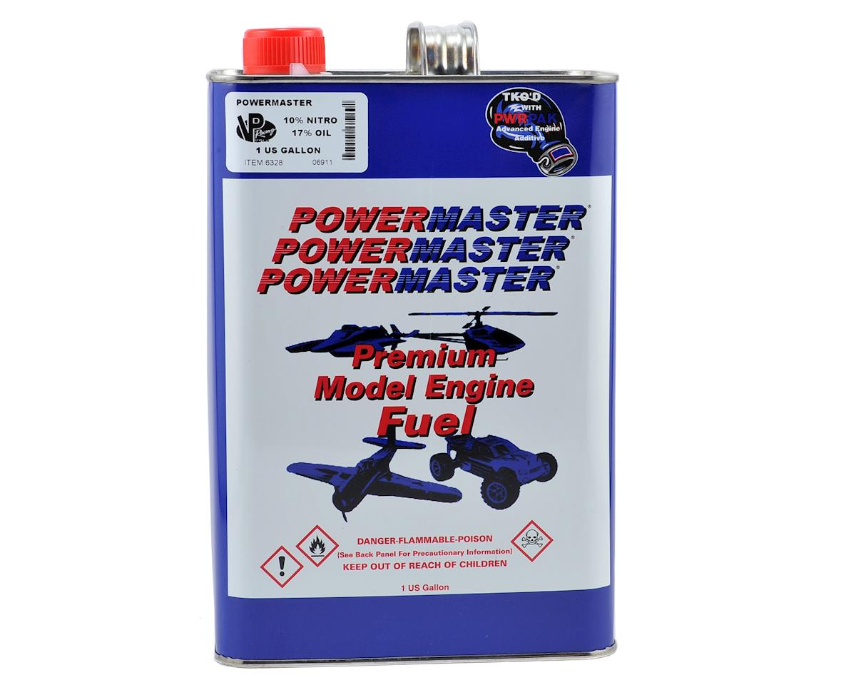 PowerMaster PowerBlend 10% Airplane Fuel (17% Castor/Synthetic Blend) (Six Gallons)