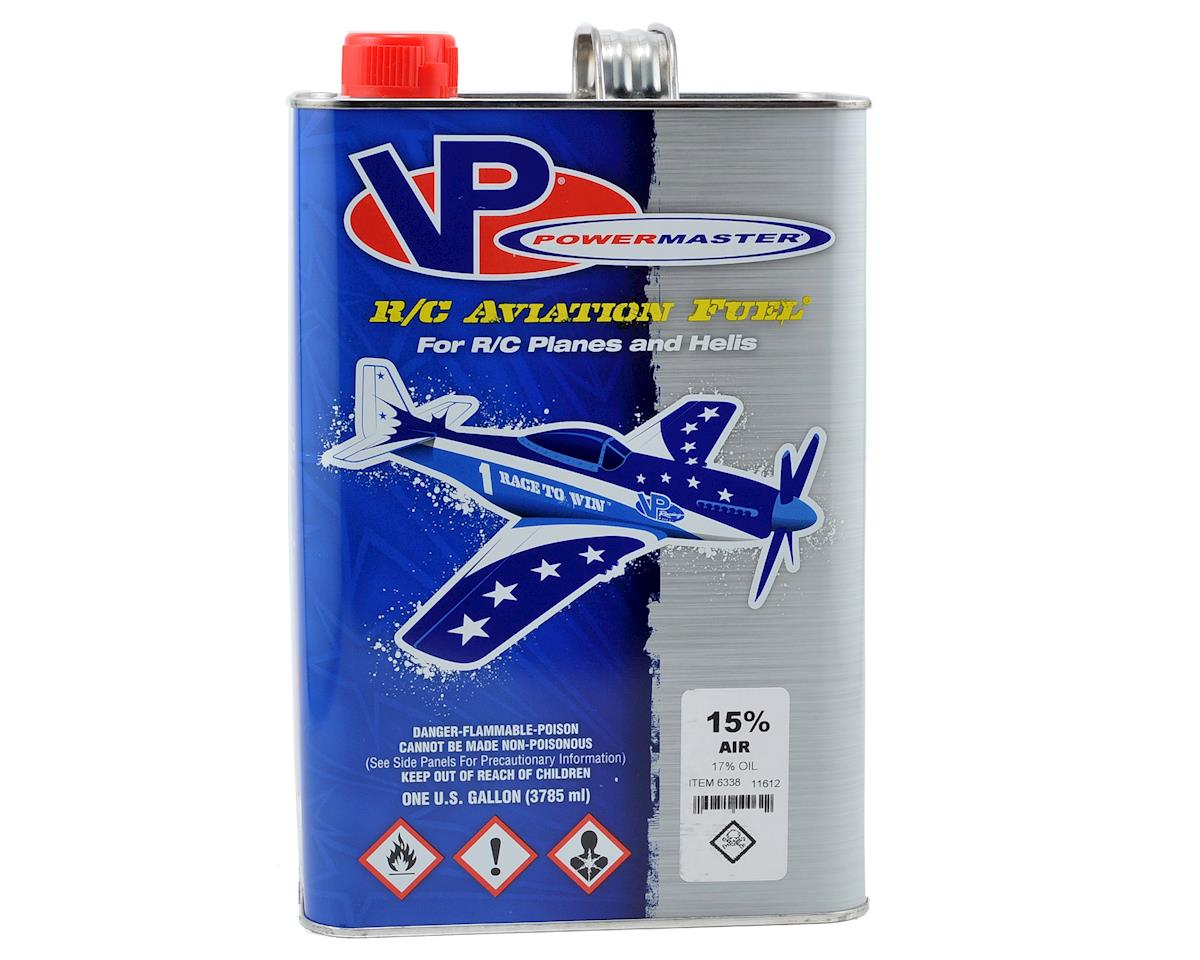 PowerMaster PowerBlend 15% Airplane Fuel (17% Castor/Synthetic Blend) (Six Gallons)