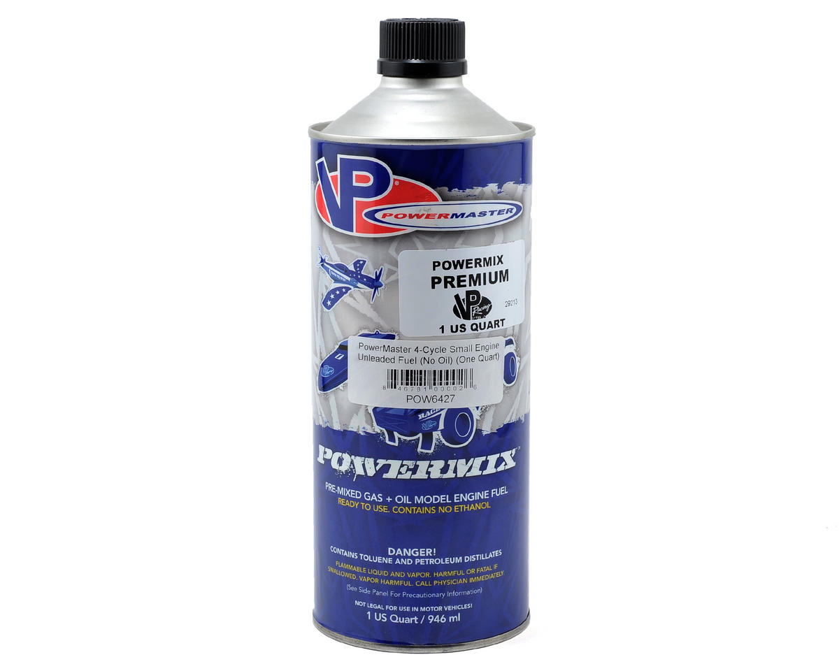 PowerMaster 4-Cycle Small Engine Unleaded Fuel (No Oil) (One Quart)