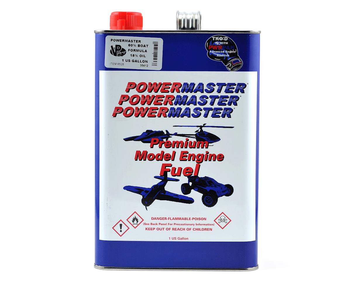 PowerMaster Boat Formula 60% Boat Fuel (18% Castor/Synthetic Blend) (Six Gallons)