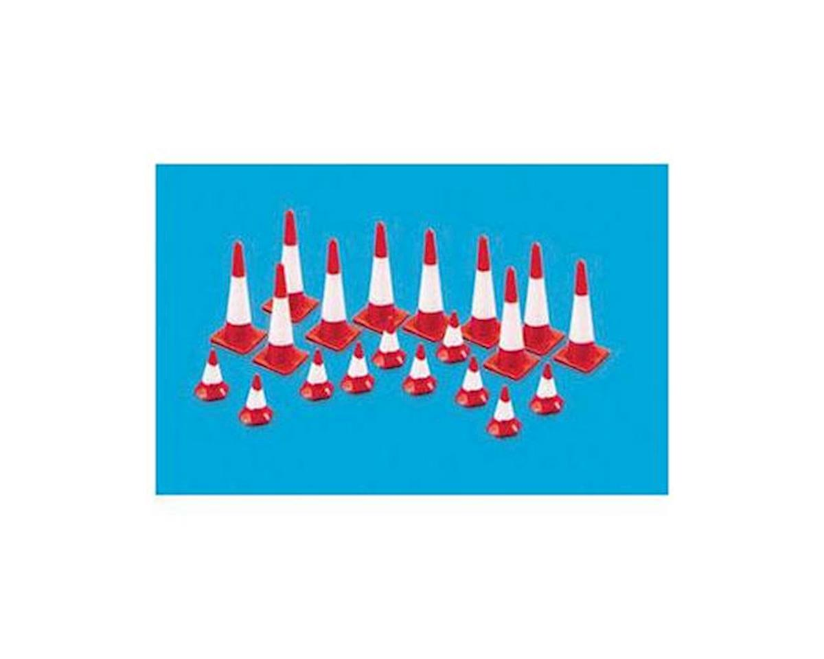 Peco HO Traffic Cones (20)