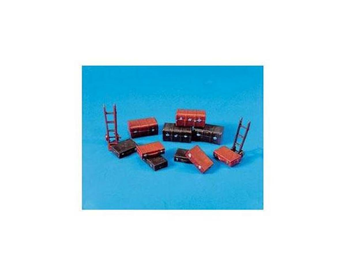Peco HO Trucks/Suitcases & Trolley Sack Truck (12)
