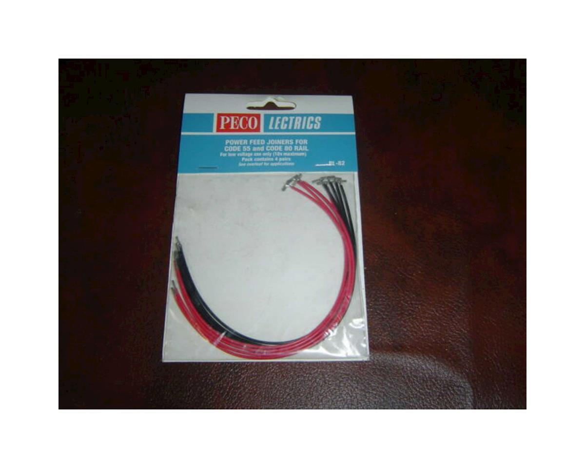 Peco N Code C55/80 Power Feed Joiner (4pr)
