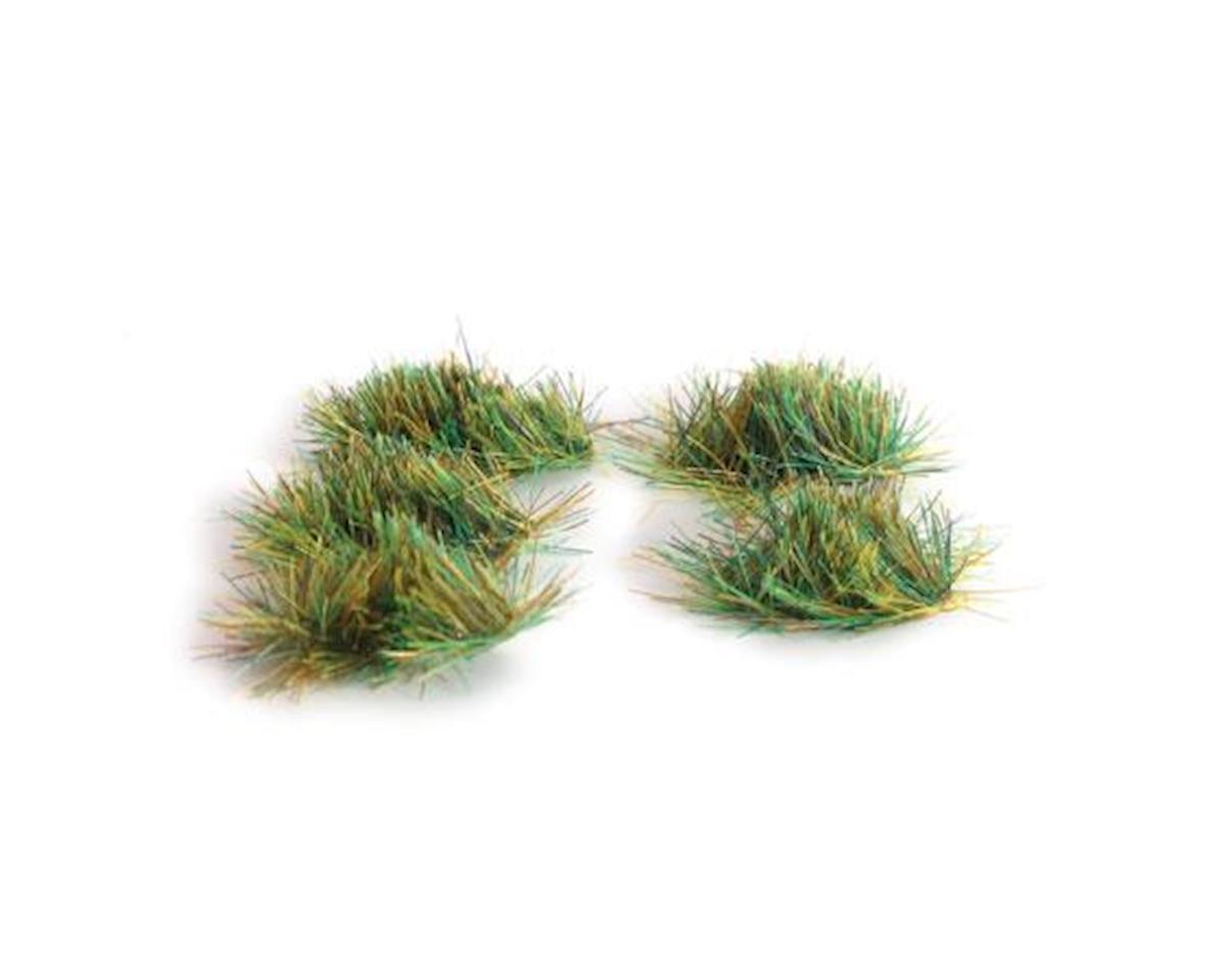 "Peco 4mm/3""16"" Self Adhesive Grass Tufts,Assorted (100)"