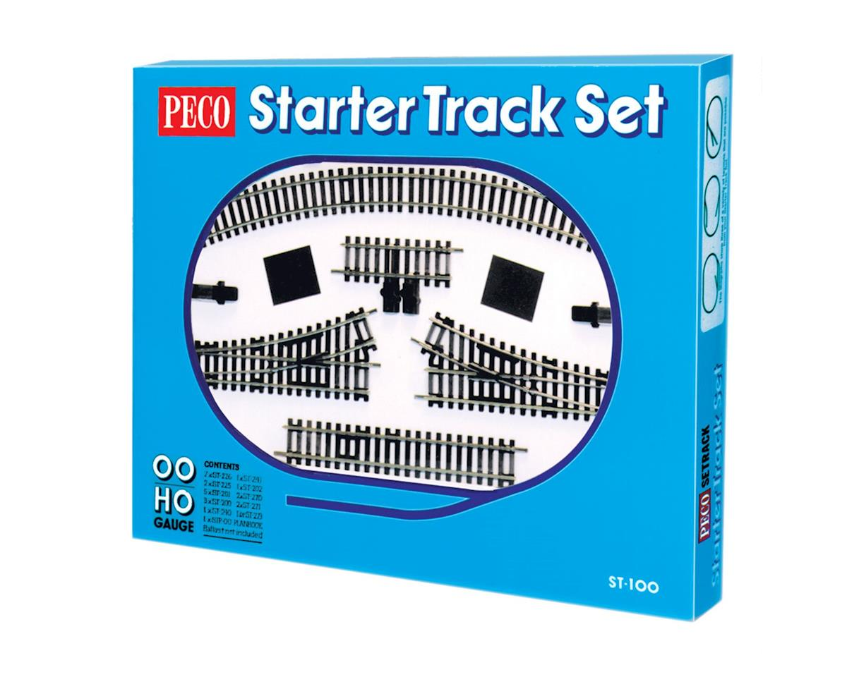 Peco HO Code 100 Starter Track Set