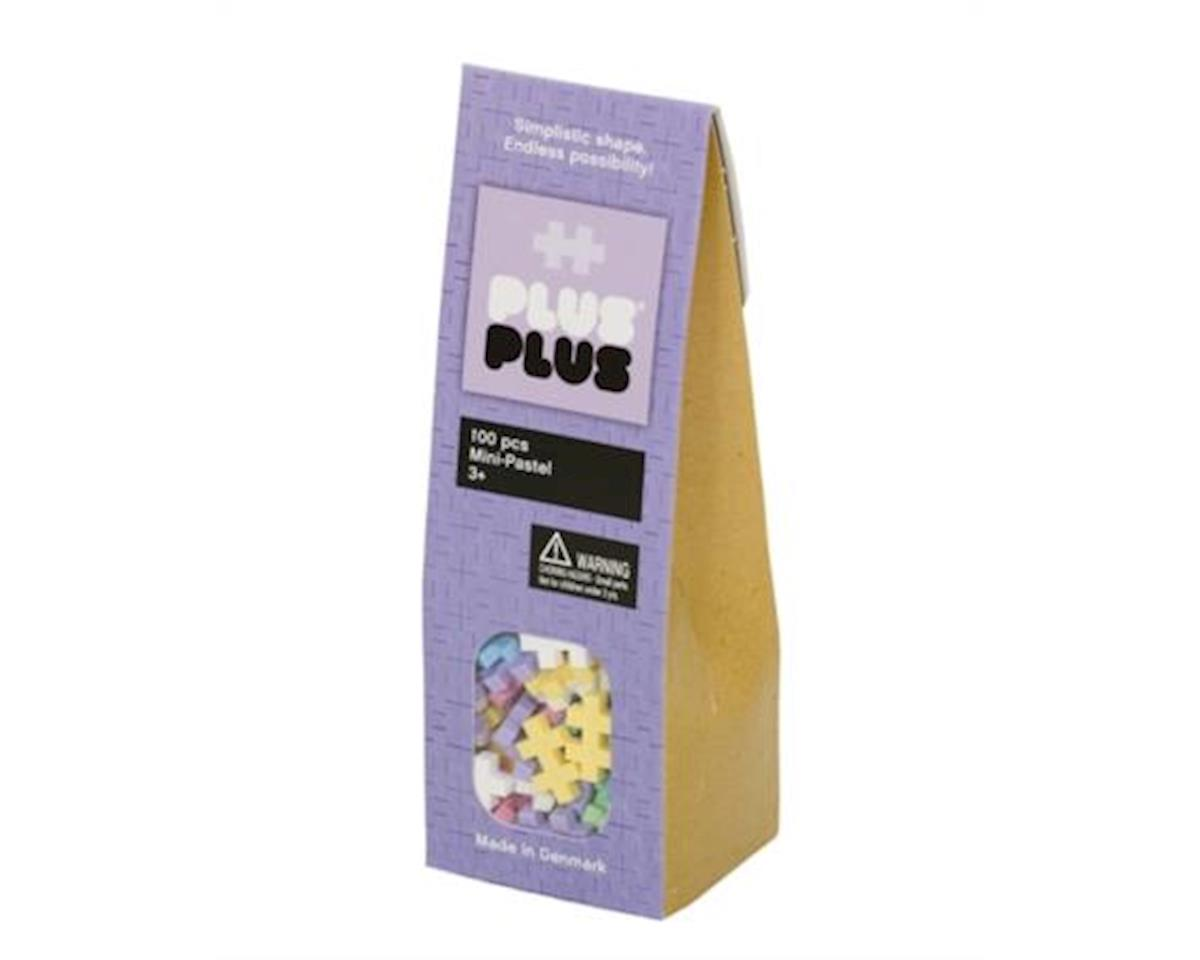 Plus-Plus Pastel Assortment, 100-Piece