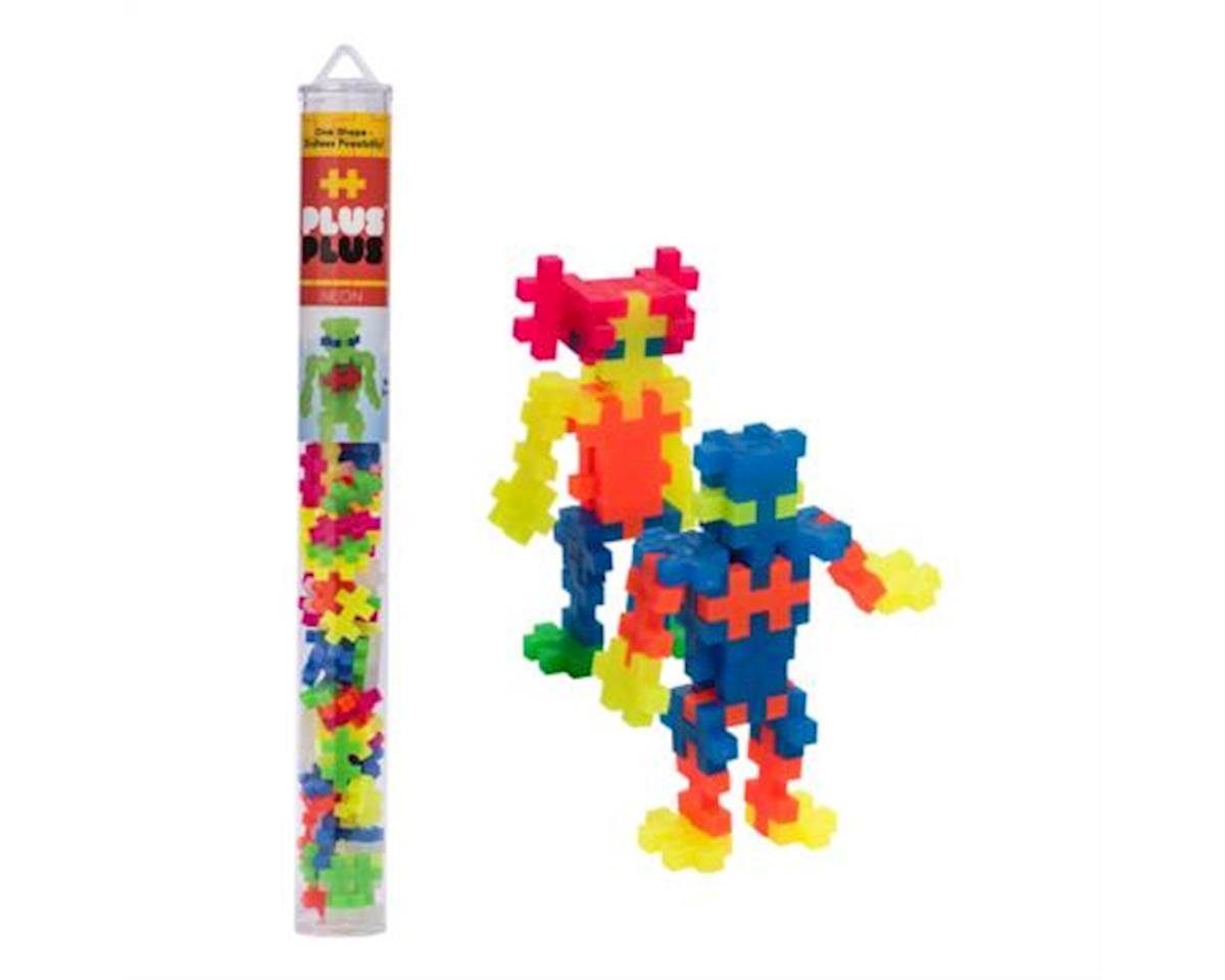 Plus-Plus Tube Neon Mix 70 pcs. - Building Set by Plus Plus (04111)