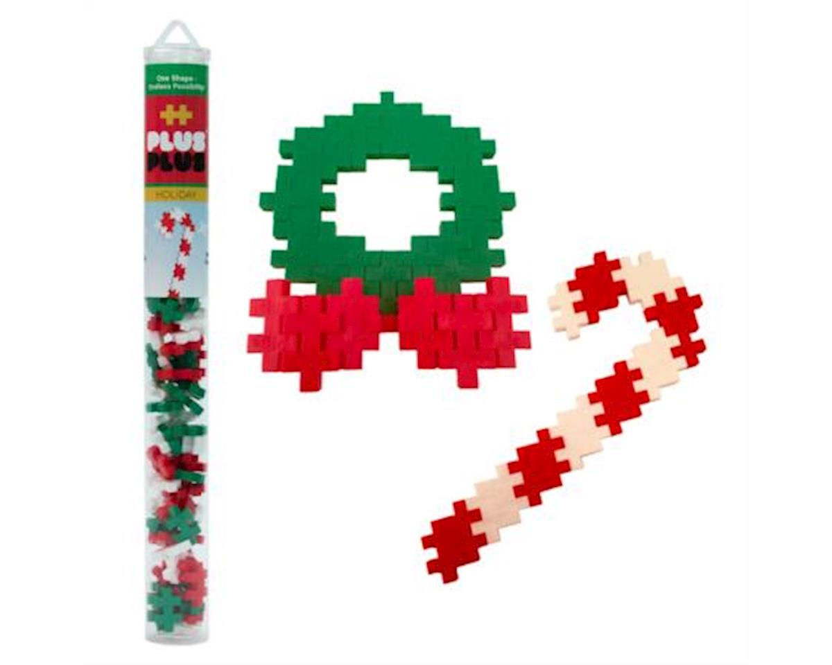 04117 - Holiday Mix - 70 pcs. - Candy Cane & Wreath Building Set