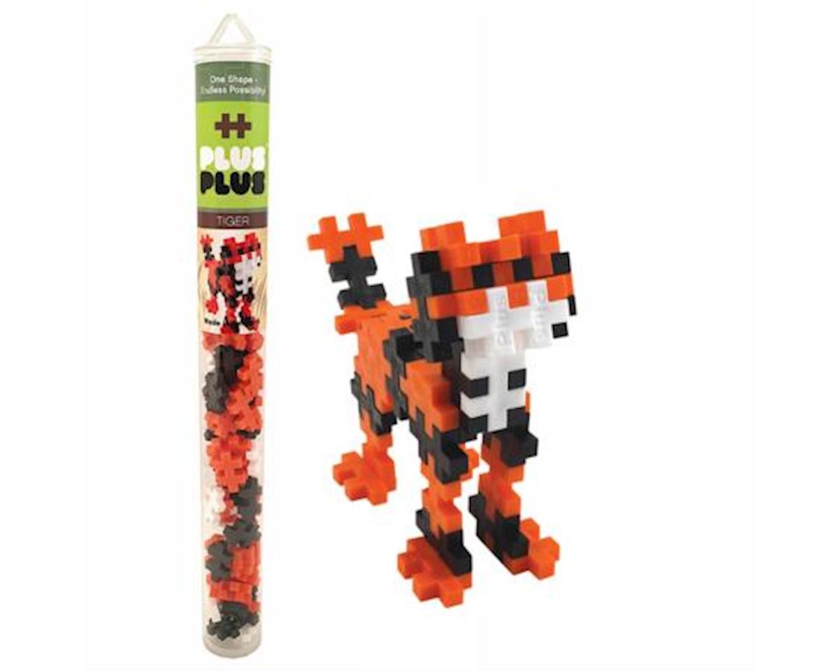 - Mini Maker Tube - Tiger - 70 Pcs by Plus-Plus