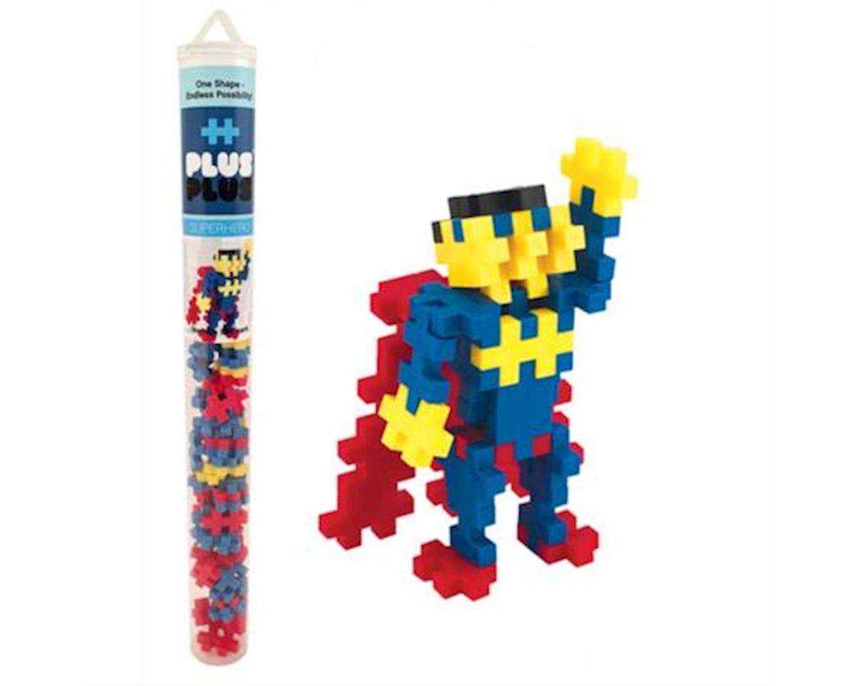 Plus-Plus - Mini Maker Tube - Superhero - 70 pcs