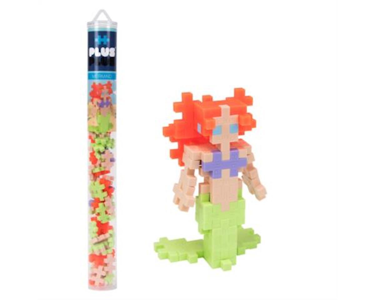 Plus-Plus - Mini Maker Tube - Mermaid - 70 pcs