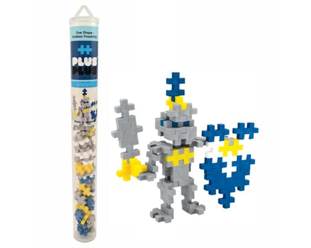 Plus-Plus - Mini Maker Tube - Knight - 70 pcs