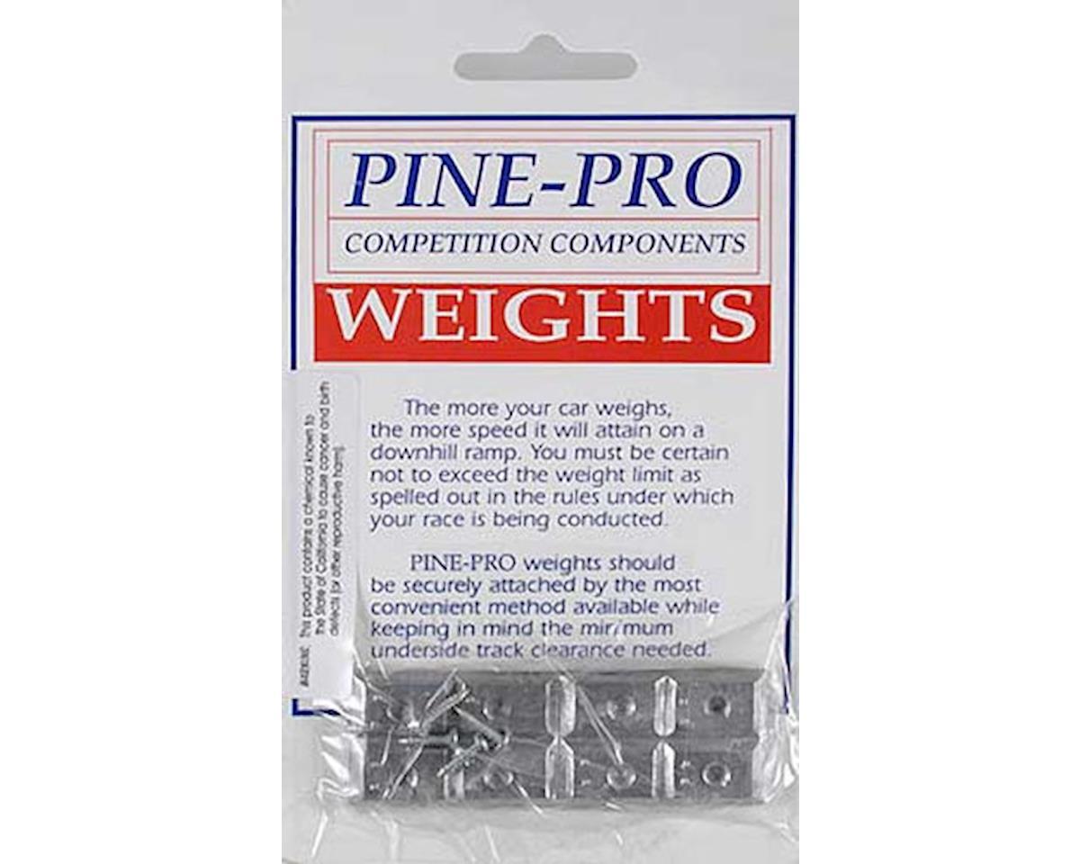 Pine-pro 10011 Rectangular Weight 1 oz