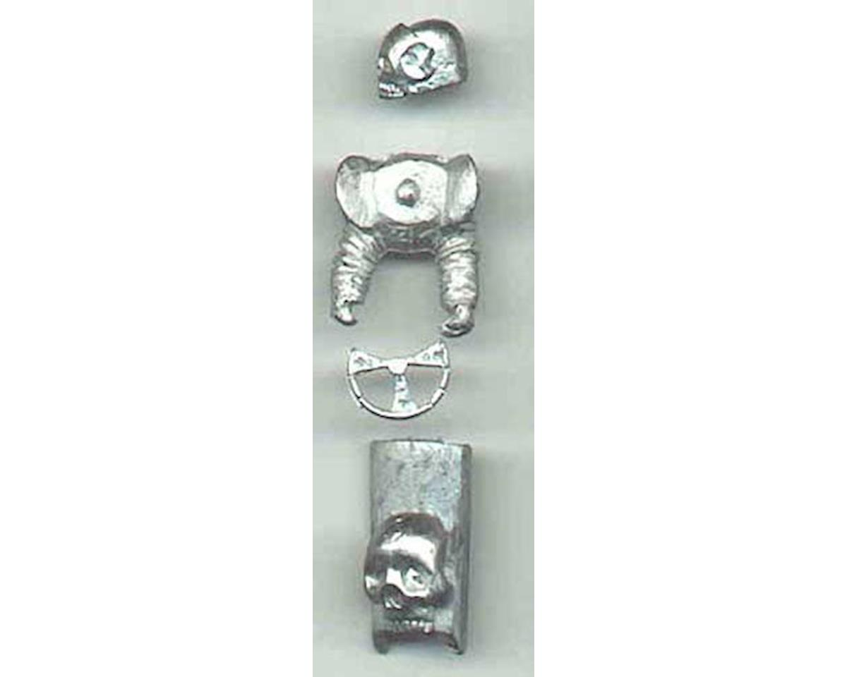 Pine-pro 10027 Skulls Metal Fantasy Accessory Set