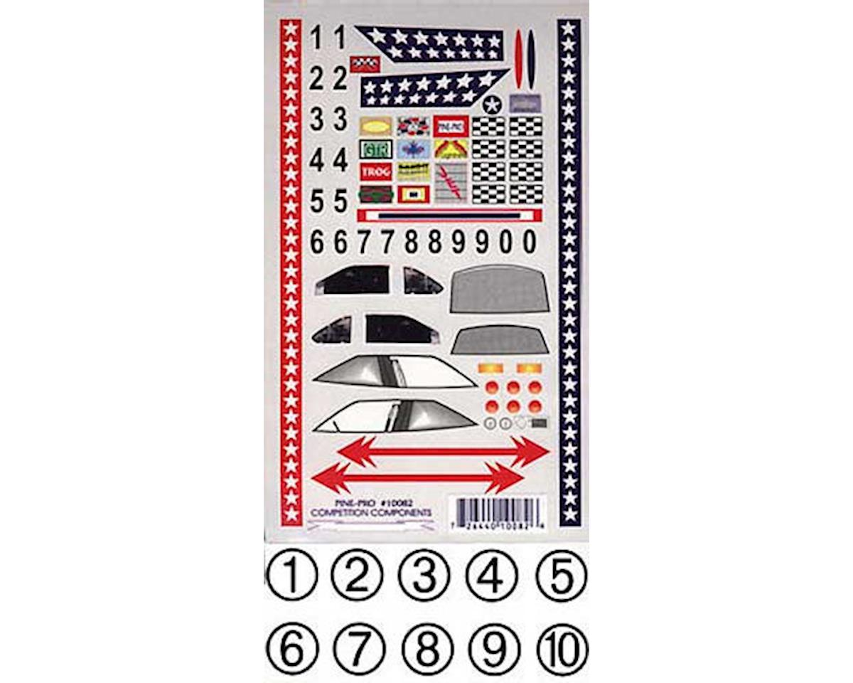 Pine-pro 10082 Super Stock Decal