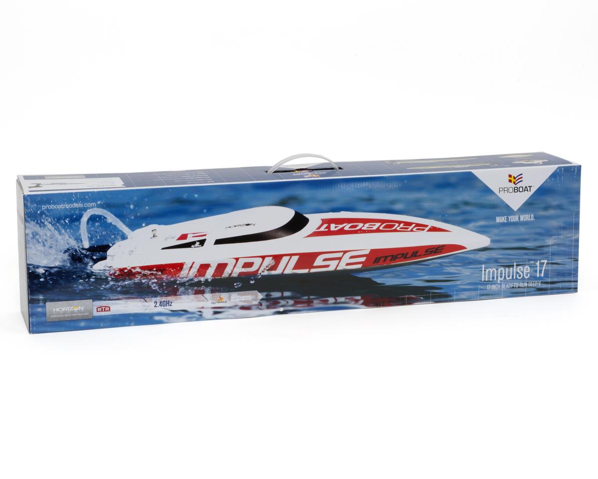 Pro Boat Impulse 17 Deep-V RTR Boat w/Pro Boat 2.4GHz Radio System