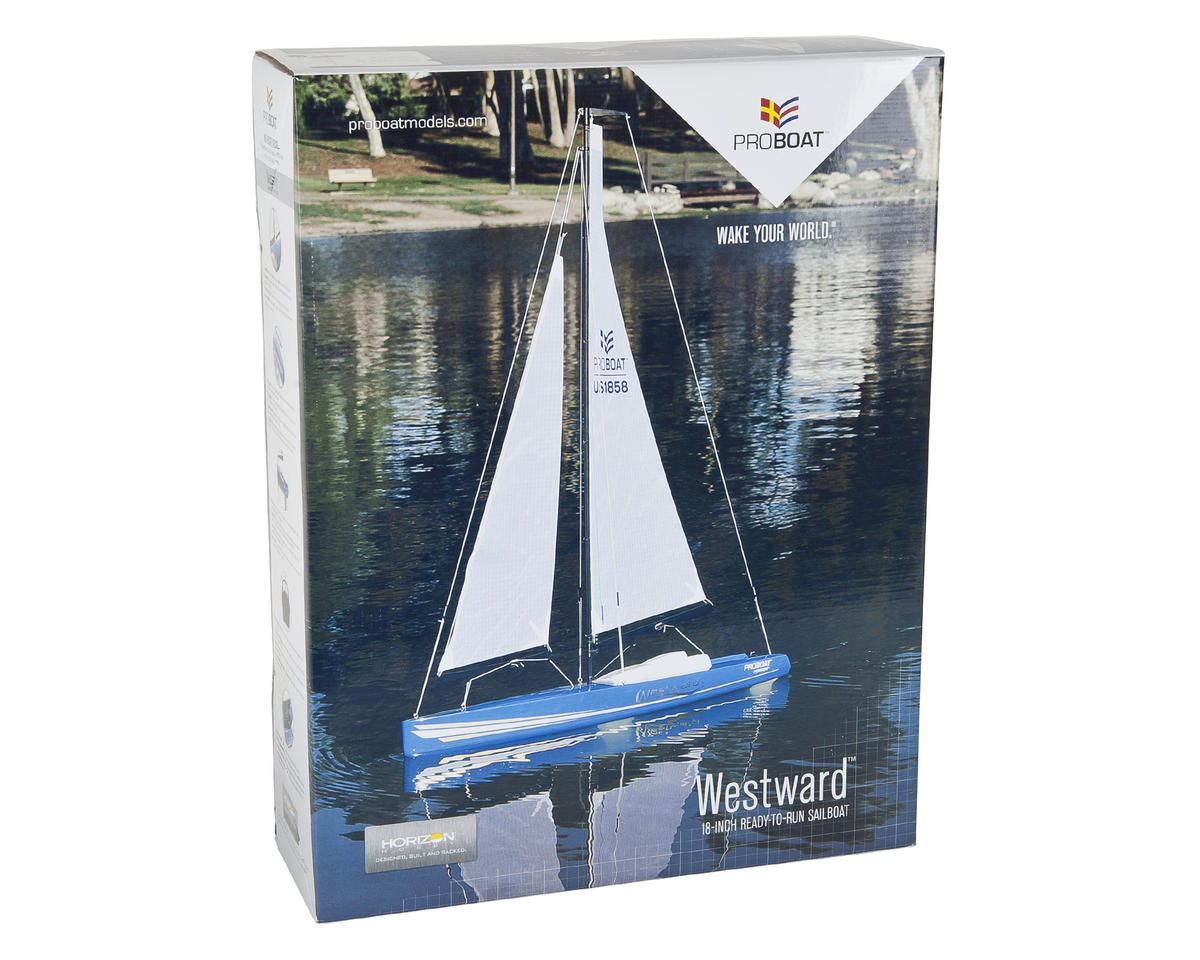 Pro Boat Westward V2 18-inch RTR Sailboat