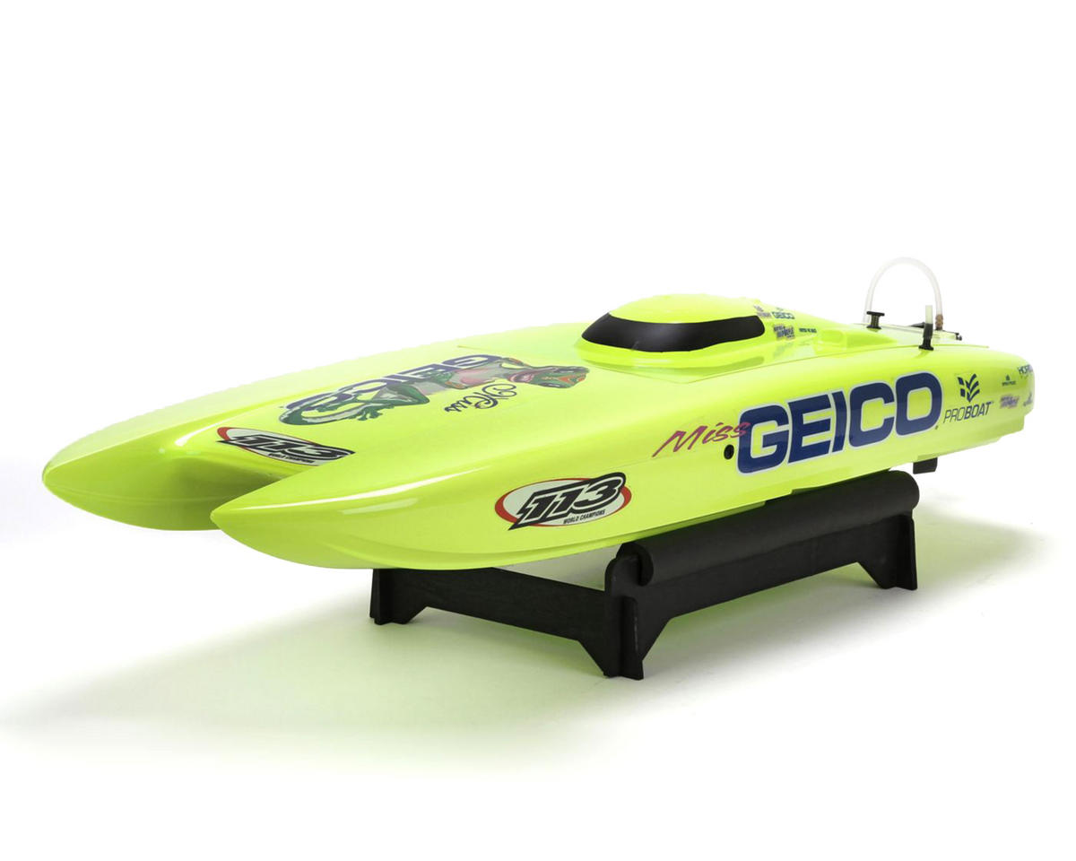 Miss GEICO 29 Catamaran Brushless RTR Boat