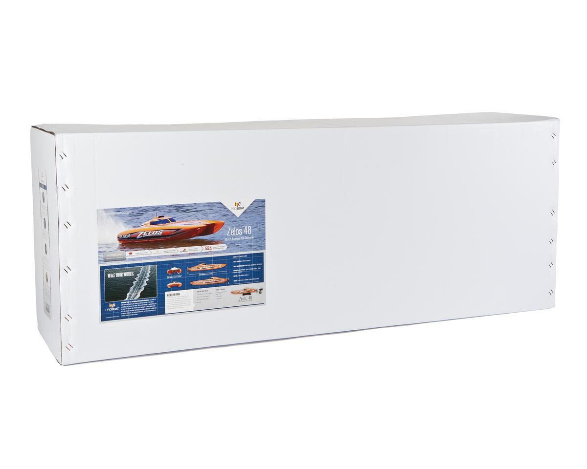 Pro Boat Zelos 48 RTR Brushless Catamaran