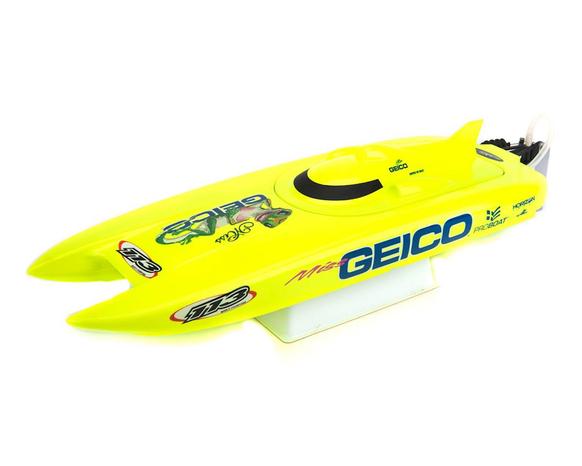 Miss Geico 17-inch RTR Brushed Catamaran Boat by Pro Boat