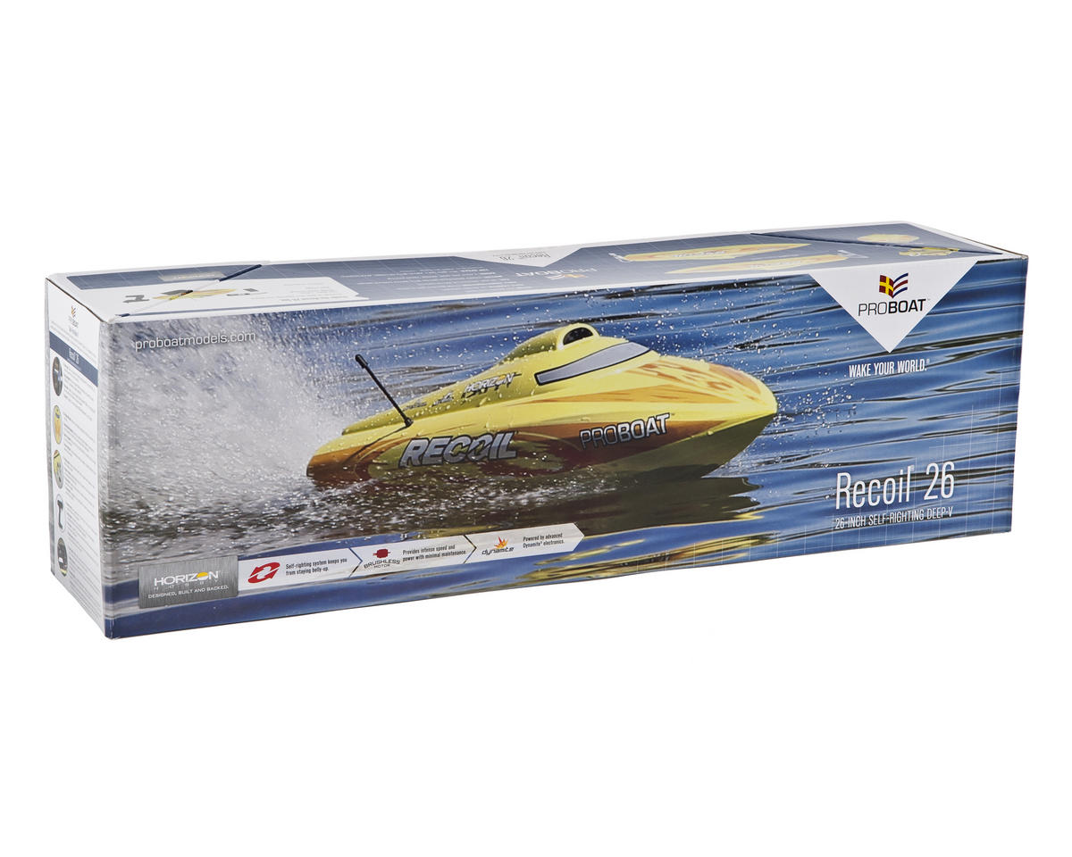 Recoil 26 Brushless Deep-V RTR Self-Righting Boat by Pro Boat
