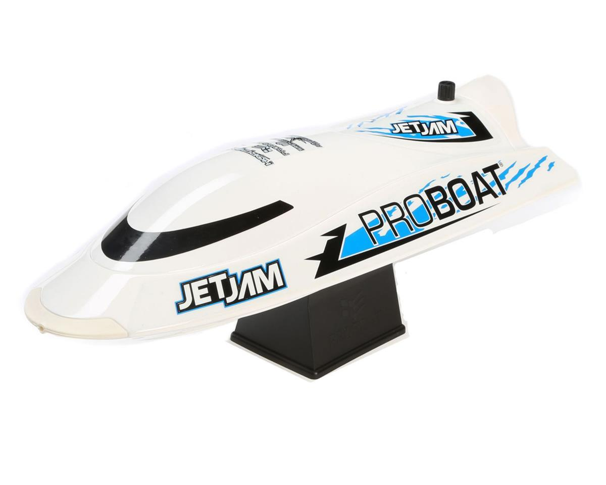 Jet Jam 12 Inch Pool Racer RTR Electric Boat (White)