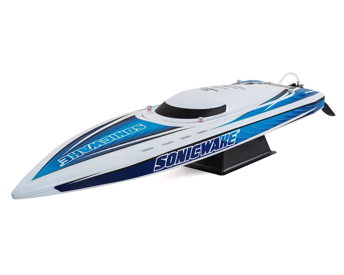 """Pro Boat Sonicwake 36"""" RTR Deep-V Brushless Boat (White) 