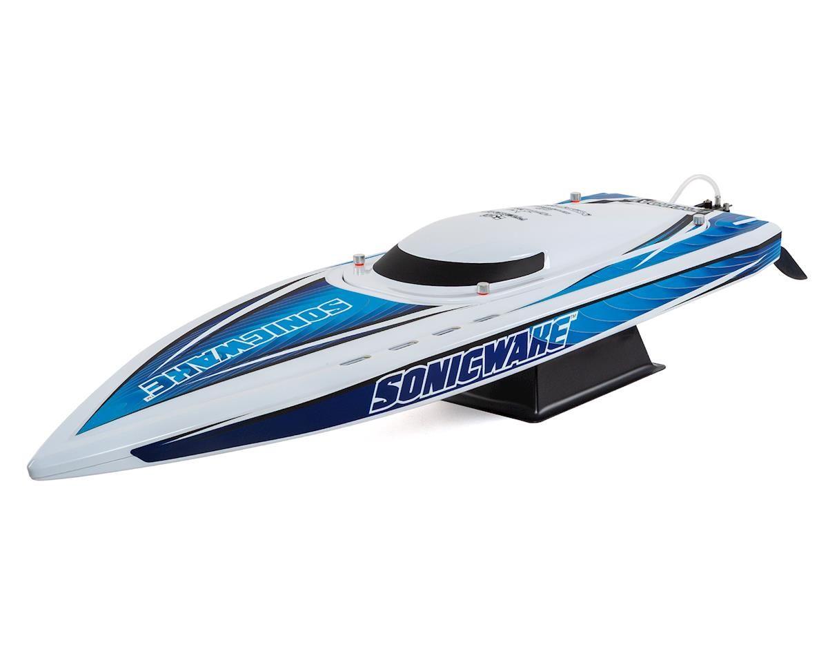 """Sonicwake 36"""" RTR Deep-V Brushless Boat (White) by Pro Boat"""
