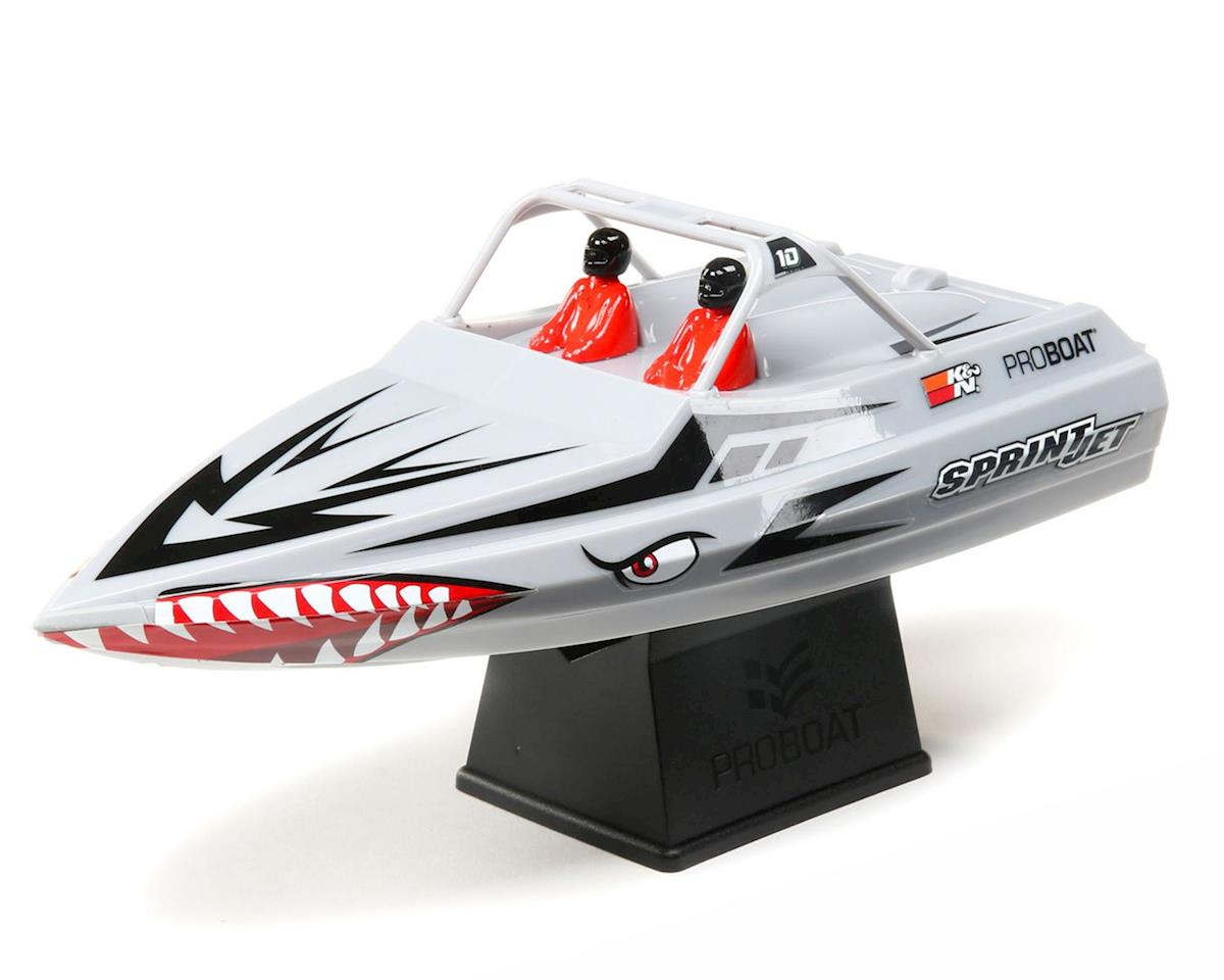 SCRATCH & DENT: Pro Boat Sprintjet 9 Inch Self-Righting RTR Electric Jet Boat (Silver)