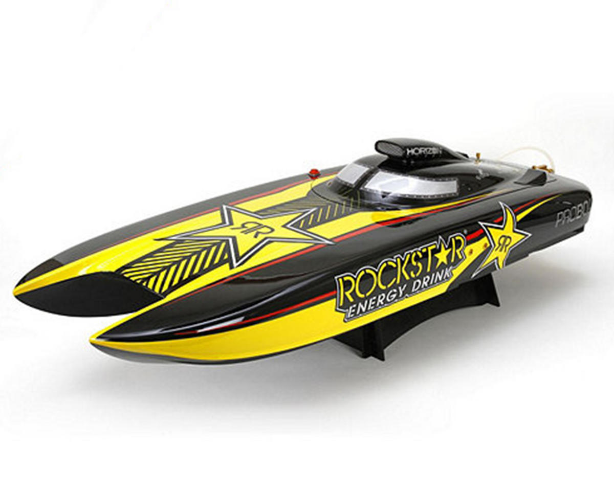 Pro Boat Rockstar RTR 48-inch Gas Powered Catamaran w/DX2E 2.4GHz Radio & 26cc Engine
