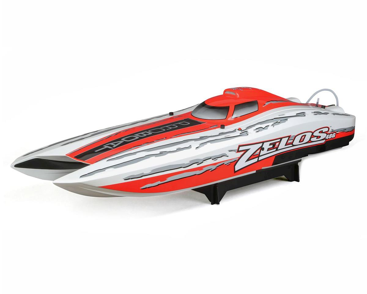 Zelos G RTR 48-inch Gas Powered Catamaran by Pro Boat