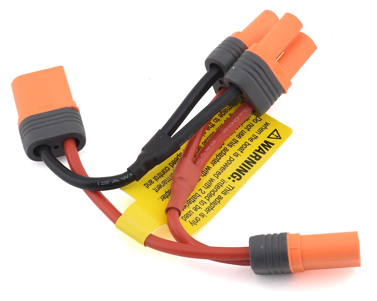 Pro Boat GEICO Zelos 36 EC5 Dual ESC Series Battery Adapter