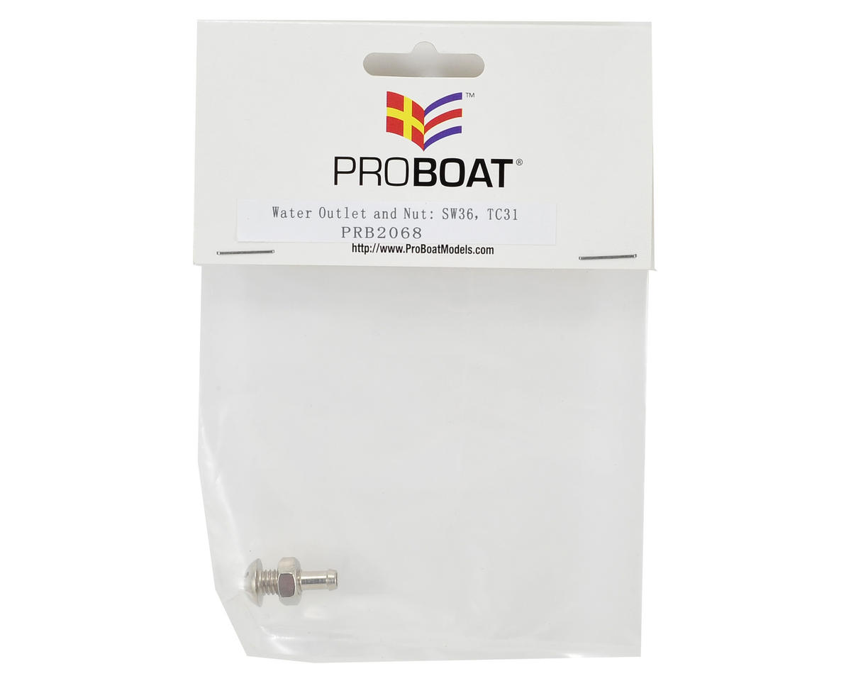 Pro Boat Water Outlet & Nut