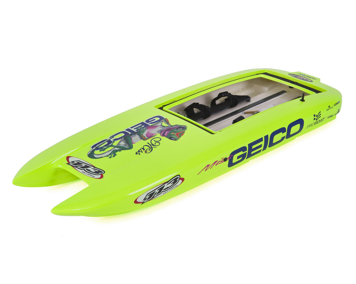 Miss Geico 29 V3 Hull w/Decals by Pro Boat