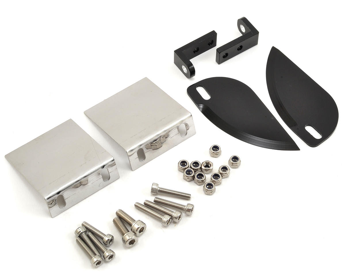 Pro Boat Trim Tab & Turn Fin Set w/Hardware