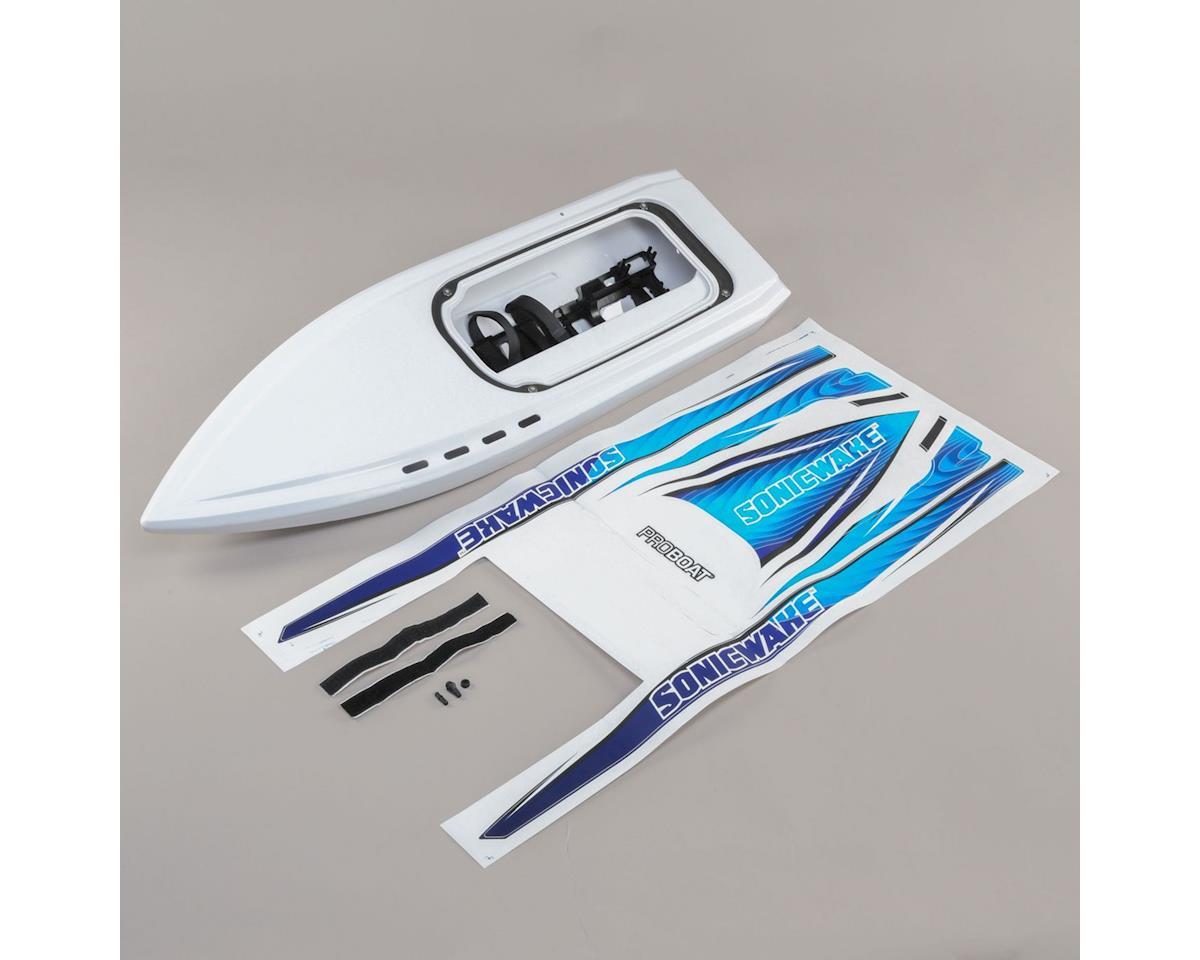 Pro Boat Sonicwake 36 Hull (White)