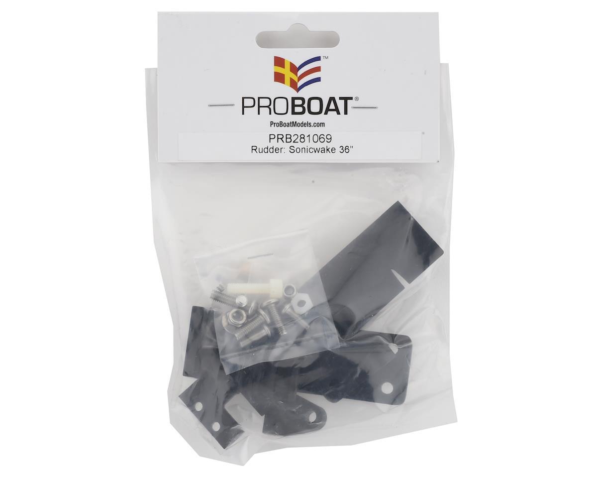 Pro Boat Sonicwake 36 Rudder