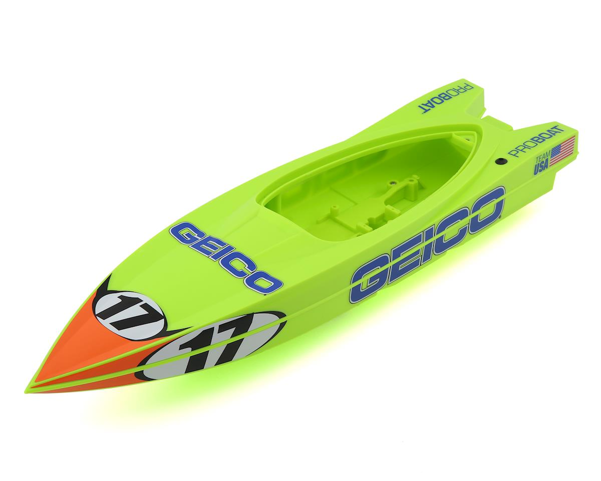 Pro Boat Miss Geico Power Boat Hull