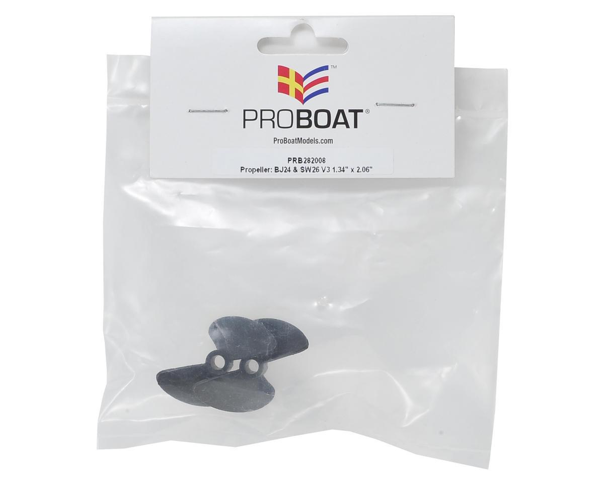 "Pro Boat 1.34x2.06"" Propeller (2)"