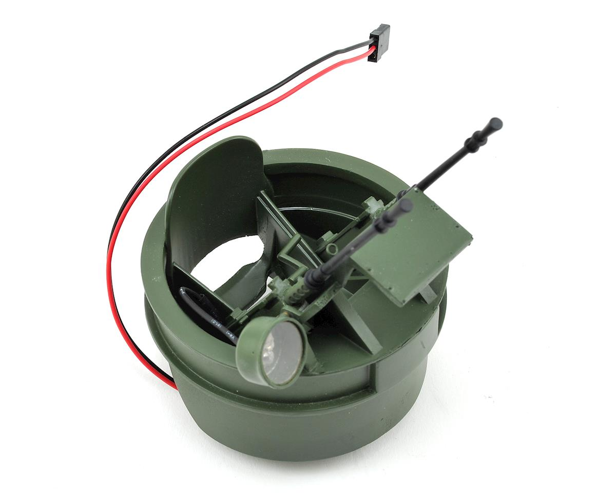 Alpha Patrol Boat Gun Turret w/LED by Pro Boat
