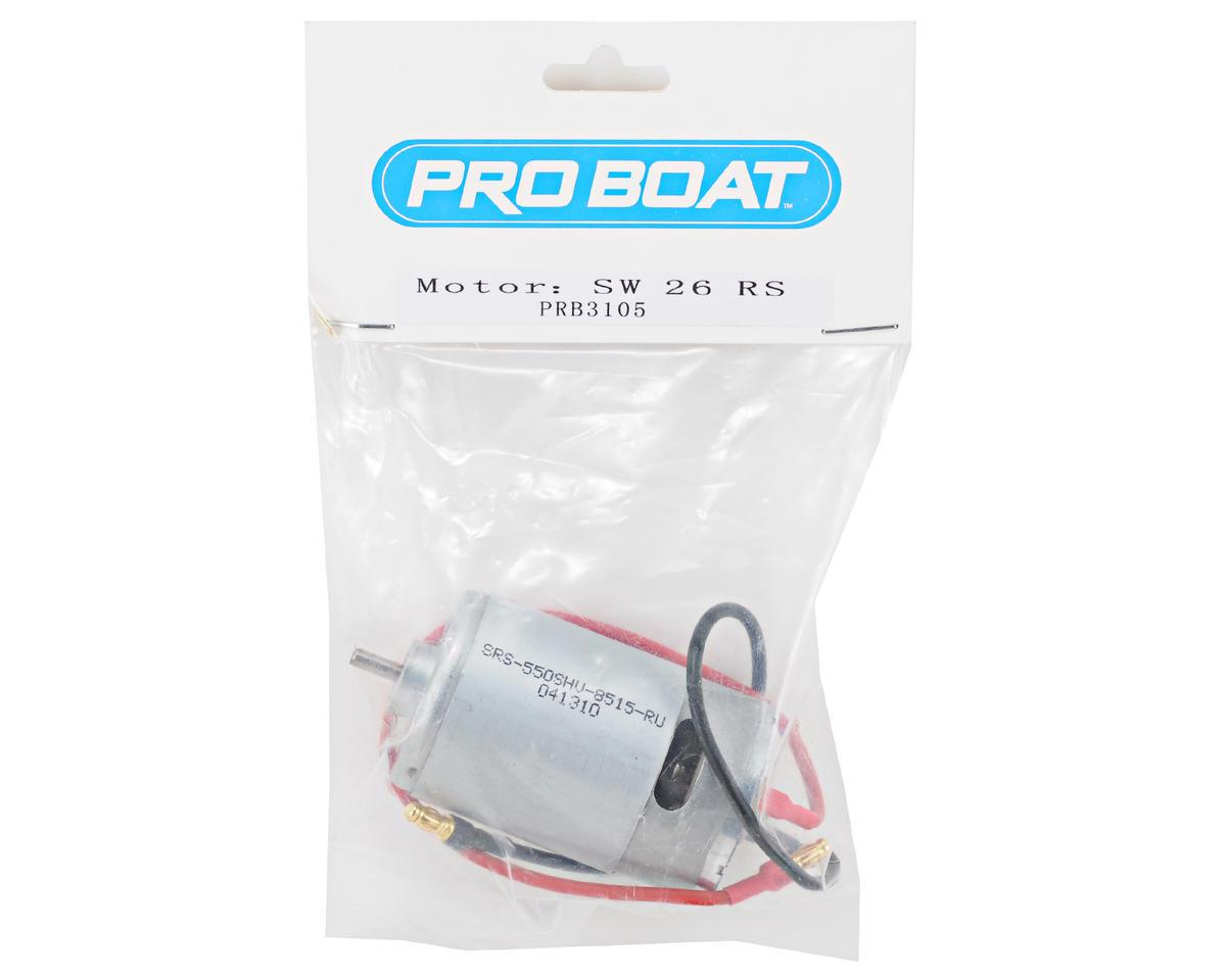 Pro Boat Brushed 550 Motor