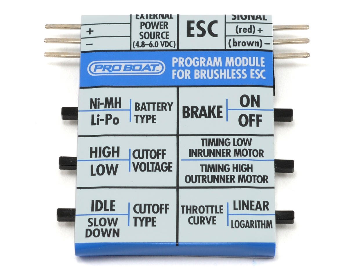 Pro Boat Brushless ESC Programming Module (PRB3309)