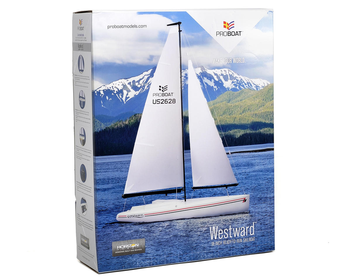 Pro Boat Westward 18 Sailboat RTR
