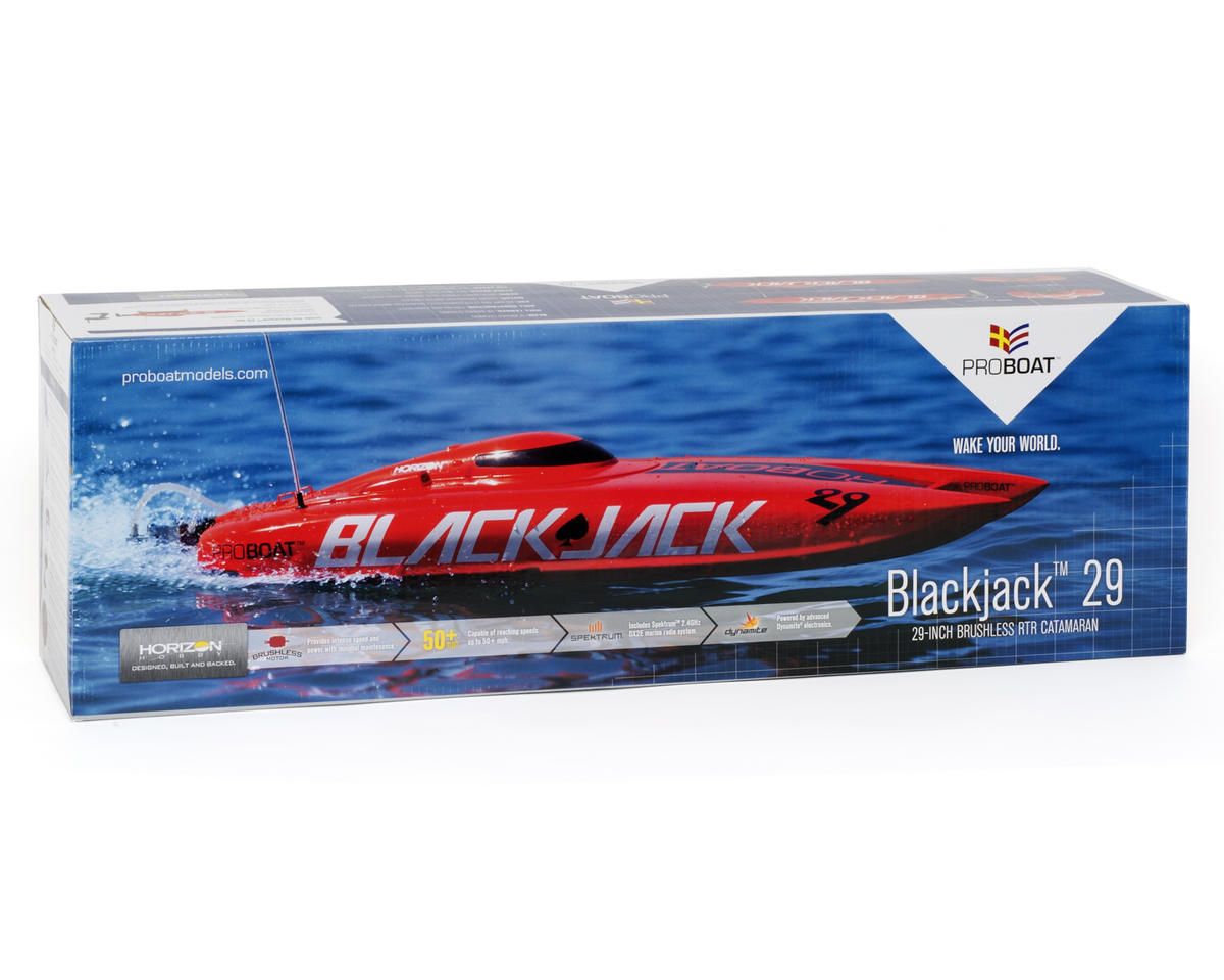 Pro Boat Blackjack 29 Brushless Catamaran RTR w/2.4GHz Radio System