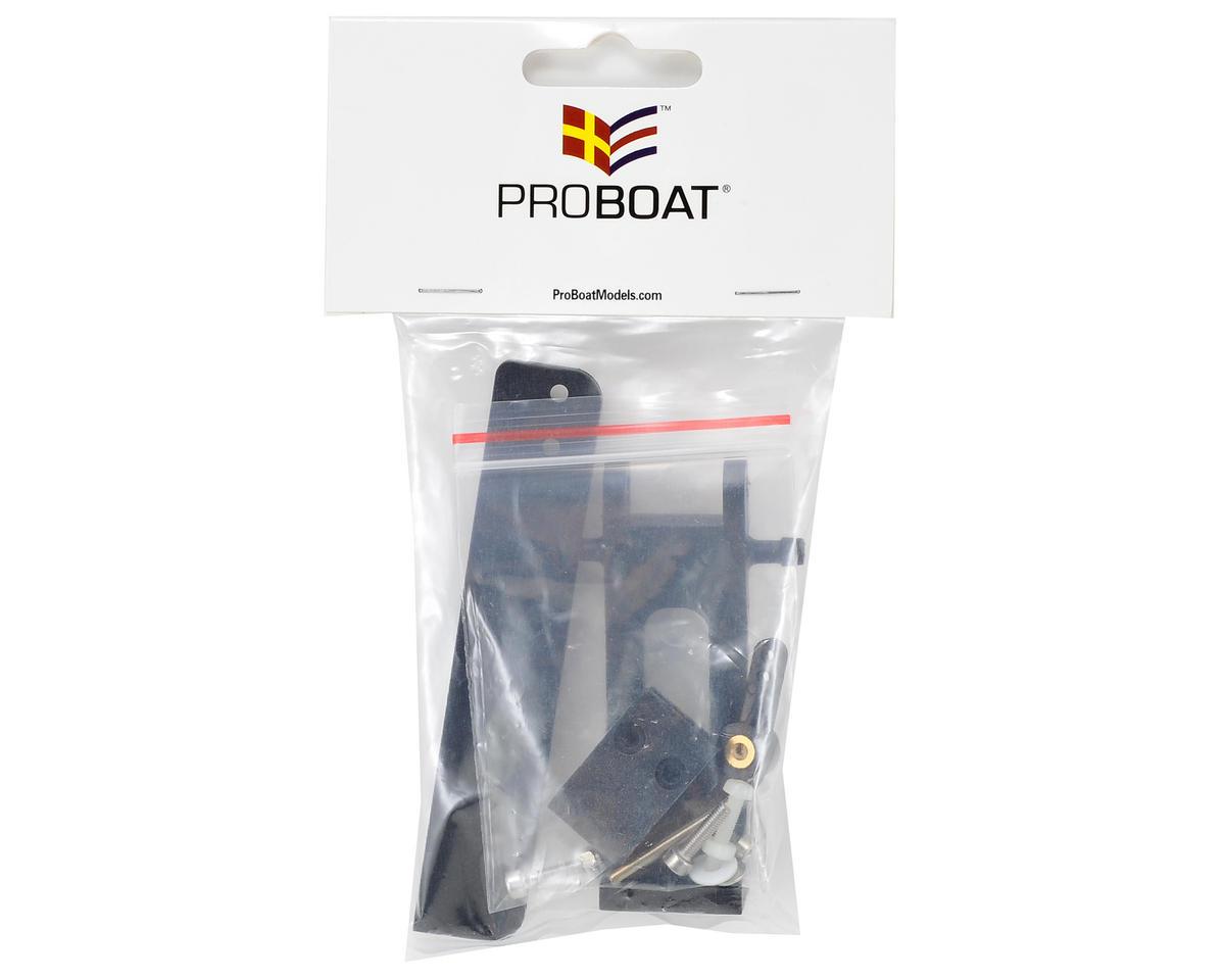 Pro Boat Complete Rudder & Strut Set