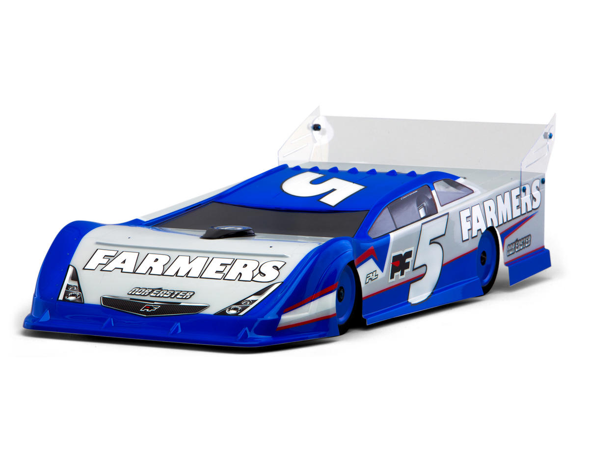 Protoform Nor'easter Dirt Oval Late Model Body (Clear)
